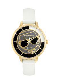 Biały zegarek Karl Lagerfeld klasyczny