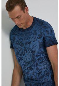 medicine - Medicine - T-shirt bawełniany Back To The City. Kolor: niebieski. Materiał: bawełna