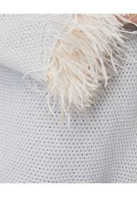 LE TRICOT PERUGIA - Szary sweter z kaszmiru. Kolor: szary. Materiał: kaszmir. Styl: elegancki