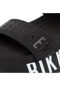Czarne sandały Bikkembergs na co dzień, casualowe