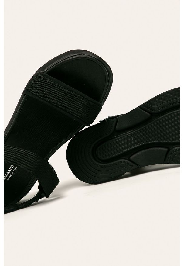 Czarne sandały vagabond