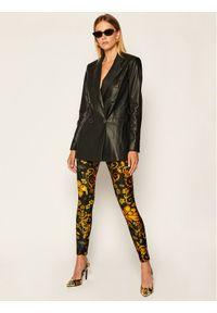 Legginsy Versace Jeans Couture w kolorowe wzory