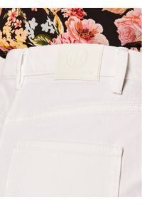 Białe jeansy bootcut Tory Burch