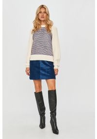 Wielokolorowy sweter Sportmax Code z długim rękawem, długi, klasyczny #5