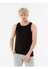 outhorn - Koszulka bez rękawów męska. Materiał: jersey, bawełna, materiał, tkanina, poliester. Długość rękawa: bez rękawów. Wzór: gładki. Sezon: lato