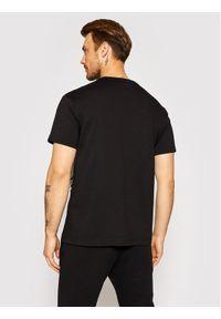 Versace Jeans Couture T-Shirt Centered Vemb 71GAHT19 Czarny Regular Fit. Kolor: czarny