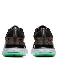 Buty do biegania męskie Nike React Infinity Run Flyknit 2 CT2357. Materiał: włókno, materiał, guma. Szerokość cholewki: normalna. Wzór: ze splotem. Sport: bieganie