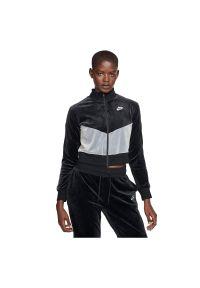 Bluza damska Nike Sportswear Heritage BV5046. Materiał: poliester, elastan, dzianina, materiał