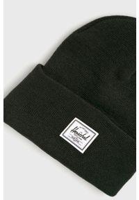 Herschel - Czapka. Kolor: czarny