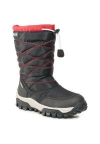 Geox - Śniegowce GEOX - J Himalaya B Wpf B J043AB 0FU04 C0048 S Black/Red. Kolor: czarny. Materiał: materiał. Sezon: zima, jesień