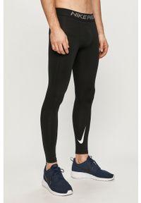 Czarne legginsy sportowe Nike gładkie, Dri-Fit (Nike)