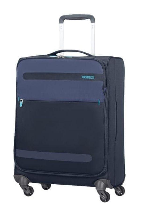 Niebieska walizka AMERICAN TOURISTER sportowa