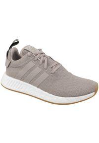 Beżowe sneakersy Adidas z cholewką, Adidas NMD
