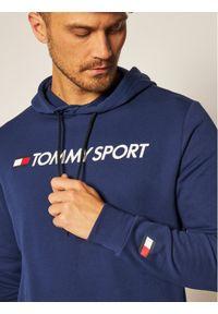 Niebieska bluza Tommy Sport sportowa