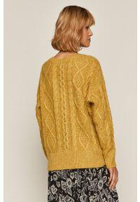 medicine - Medicine - Sweter Herbaria. Kolor: żółty. Wzór: ze splotem