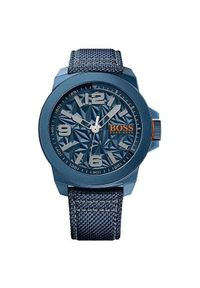 Pomarańczowy zegarek HUGO BOSS sportowy