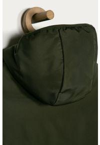 Zielona kurtka OVS z kapturem, na co dzień