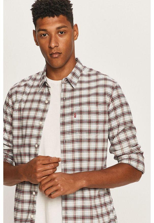 Wielokolorowa koszula Levi's® z klasycznym kołnierzykiem, długa, biznesowa
