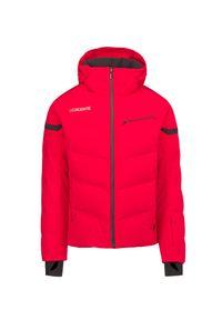 Descente - Kurtka narciarska DESCENTE SWISS DOWN. Materiał: lycra, materiał, tkanina, włókno, puch. Technologia: Thinsulate. Sport: narciarstwo