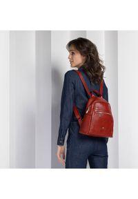 Czerwony plecak Wittchen klasyczny