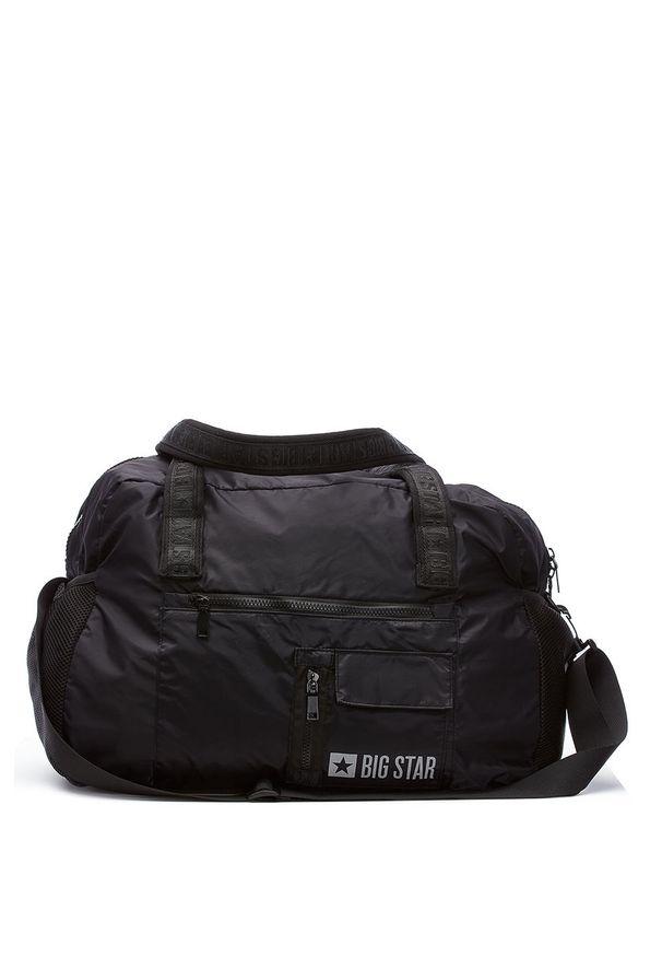 Czarna torba podróżna Big Star Accessories