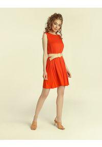 Madnezz - Sukienka Summer Gal 2.0 - chilli. Materiał: wiskoza, elastan