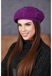 Fioletowa czapka IVET na zimę