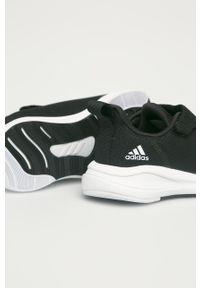 Czarne buty sportowe adidas Performance z cholewką, do biegania, Adidas Cloudfoam