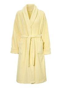Cellbes Płaszcz kąpielowy jasnożółty female żółty 56/64. Kolor: żółty. Materiał: bawełna