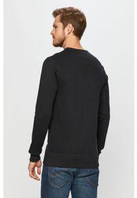 Niebieska bluza nierozpinana PRODUKT by Jack & Jones bez kaptura, z nadrukiem #5