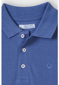 T-shirt polo Mayoral na co dzień, krótki, gładki