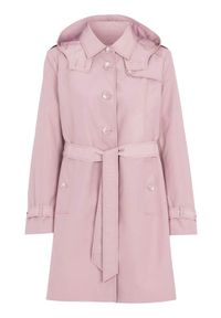 Różowy płaszcz Cellbes elegancki