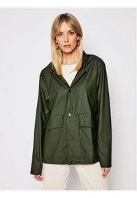 Rains Kurtka przeciwdeszczowa Unisex 1826 Zielony Regular Fit. Kolor: zielony #6