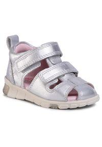 Srebrne sandały ecco