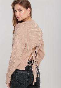 Beżowy sweter Renee