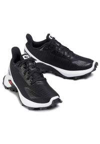 Czarne buty sportowe salomon