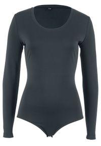 Body termoaktywne bonprix czarny. Kolor: czarny. Materiał: elastan, poliester, materiał