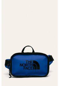 Niebieska nerka The North Face z nadrukiem