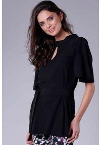 Czarna bluzka Nommo elegancka