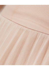 HEMISPHERE - Różowa spódnica z tiulu. Kolor: różowy, fioletowy, wielokolorowy. Materiał: tiul