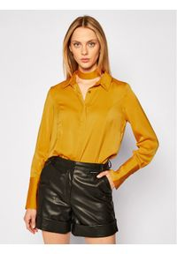 Żółta koszula Guess