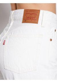 Levi's® Jeansy 501® Crop 36200-0155 Biały Cropped Fit. Kolor: biały #2