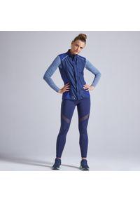 KIPRUN - Legginsy do biegania damskie Kiprun Support. Materiał: materiał