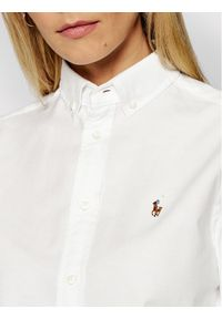 Lauren Ralph Lauren Koszula Polo Bsr 211806181003 Biały Classic Fit. Typ kołnierza: polo. Kolor: biały