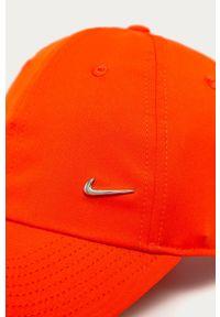Pomarańczowa czapka z daszkiem Nike Sportswear