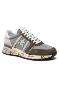 Premiata Sneakersy Lander 5195 Szary. Kolor: szary