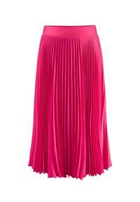 LA MANIA - Plisowana spódnica Lang w kolorze różowym. Kolor: wielokolorowy, różowy, fioletowy. Materiał: materiał #5