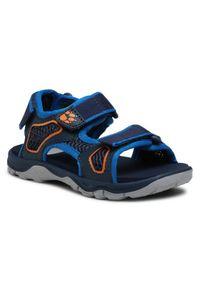 Jack Wolfskin Sandały Taraco Beach Sandal K 4039531 S Granatowy. Kolor: niebieski