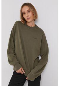 Levi's® - Levi's - Bluza. Okazja: na spotkanie biznesowe. Kolor: zielony. Wzór: aplikacja. Styl: biznesowy