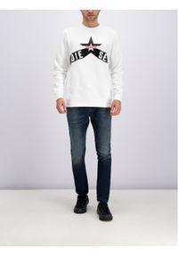 Diesel Bluza S-Gir-A2 00SWD4 0IAJH 100 Biały Regular Fit. Kolor: biały